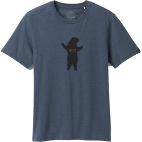 Prana Bear Squeeze Journeyman Maglietta A Maniche Corte Uomo, blu